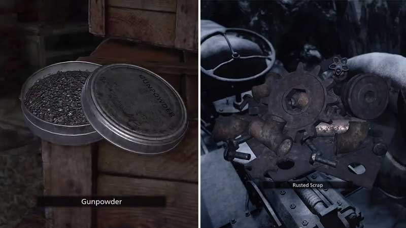 RE8 Village Gun Powder