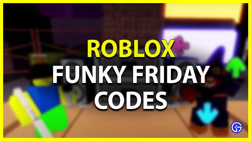 Roblox Funky Friday Codes List