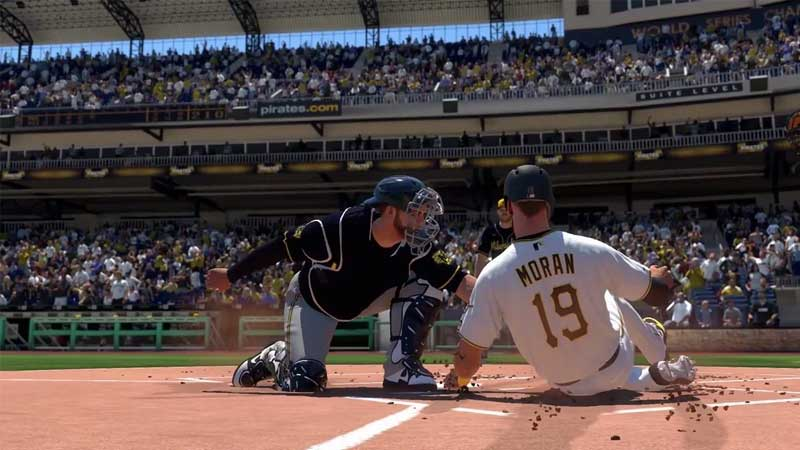 how to slide in MLB The show 21