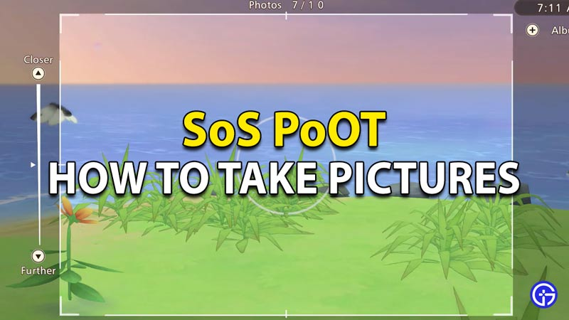 How to take pictures in SoS Pioneers Olive Town