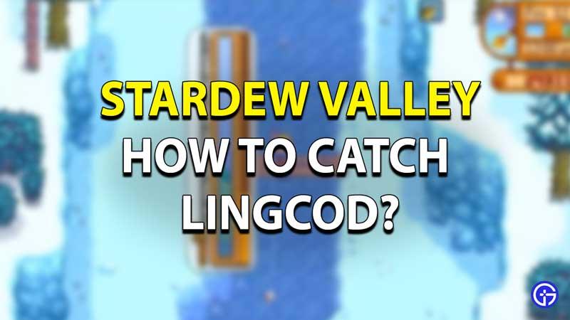 Stardew Valley Lingcod