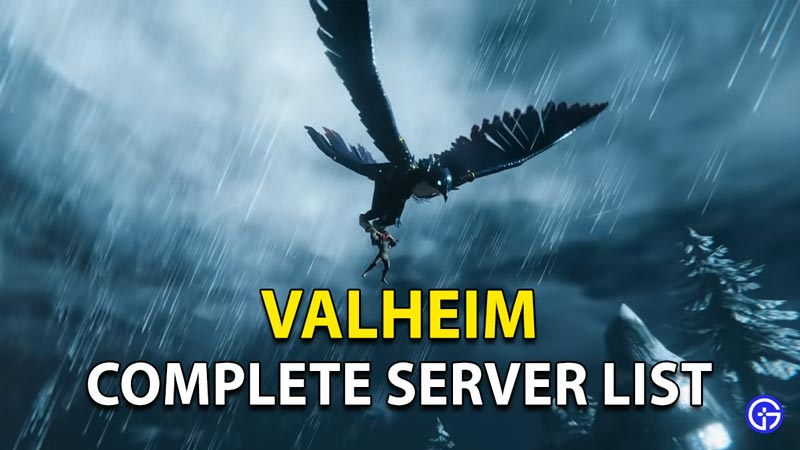 Complete Server List Valheim