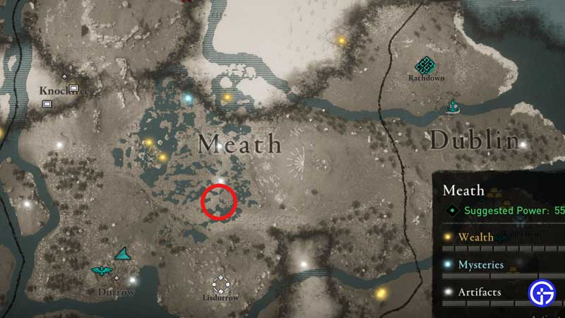 AC Valhalla Only Snake In Ireland Location In Wrath Of The Druids