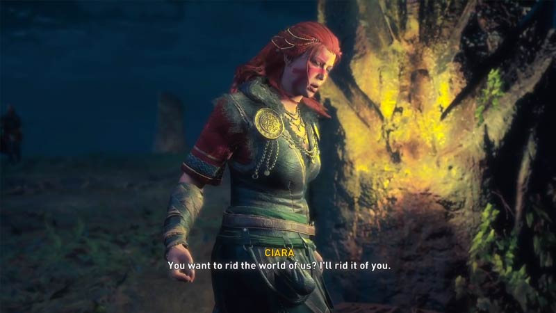 AC Valhalla Wrath Of The Druids Ending
