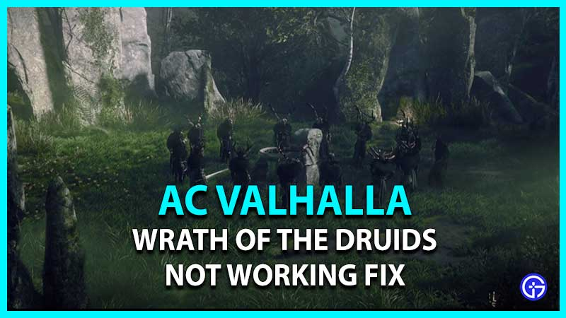 AC Valhalla Wrath of the Druids Not Working Fix