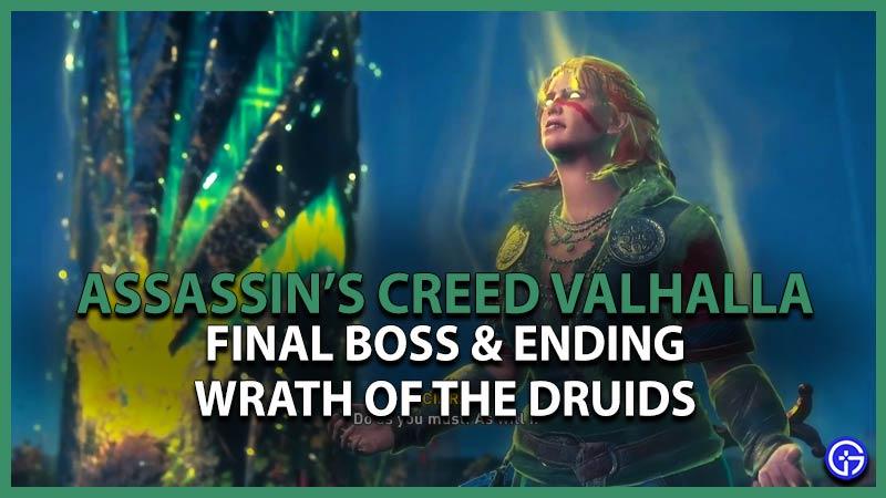 AC Valhalla Wrath of the Druids Final Boss & Ending