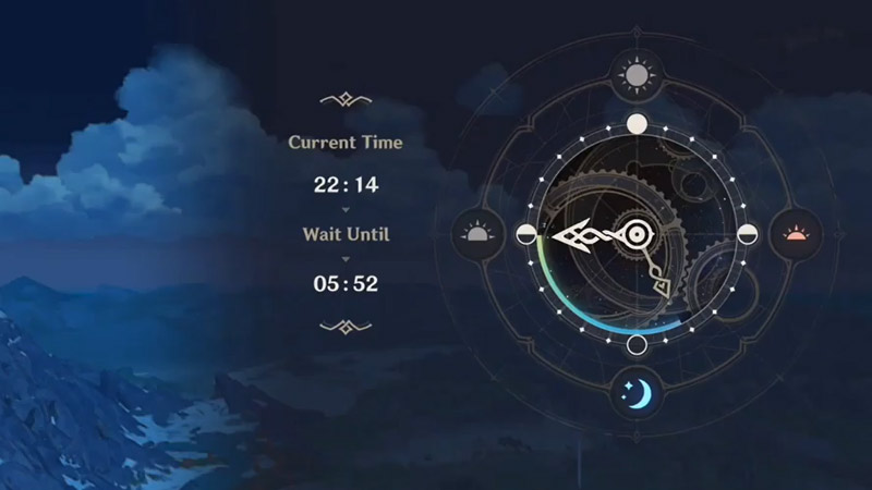 Adjust Time Genshin Imapct