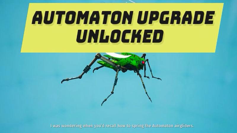 Airgliders unlocked Biomutant
