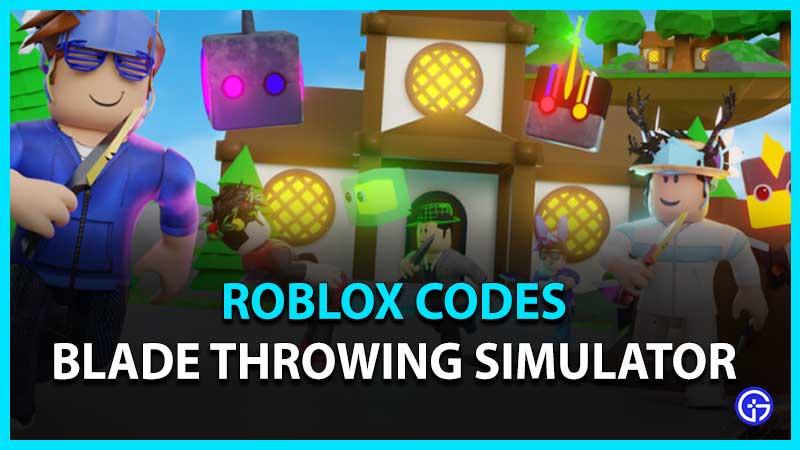 All Blade Throwing Simulator Codes List