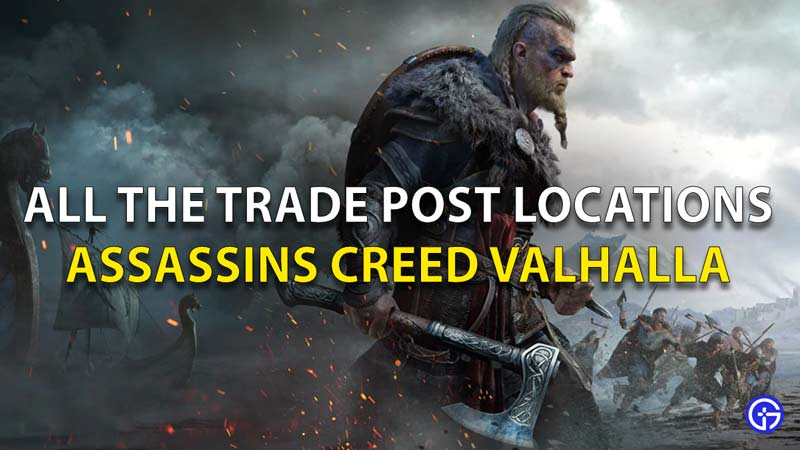 All Trade Post Locations