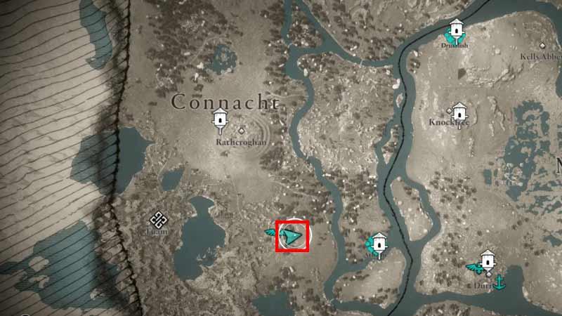 Ash Location