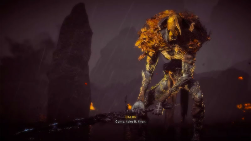 Assassins Creed Valhalla Wrath Of The Druids Balor Boss Fight