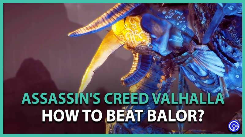 Beat the Wrath of the Druids Balor in AC Valhalla