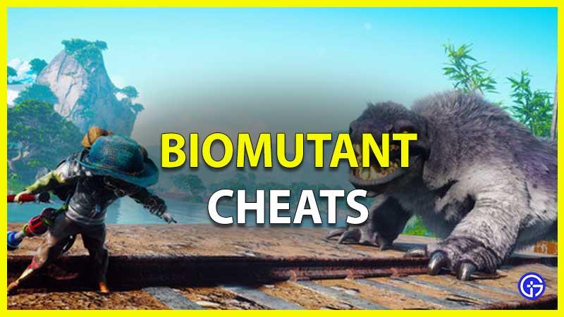 biomutant cheats codes