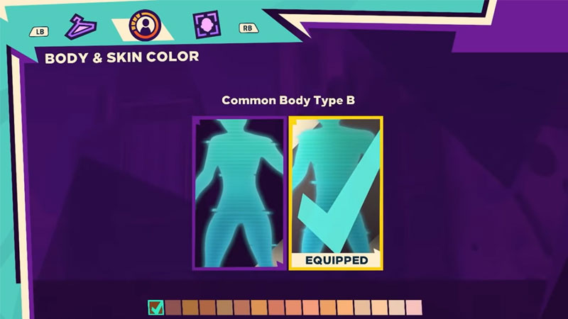 Body And Skin Color