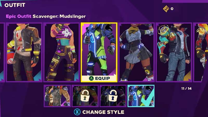 Brawler Outfit Knockout City Change Gender