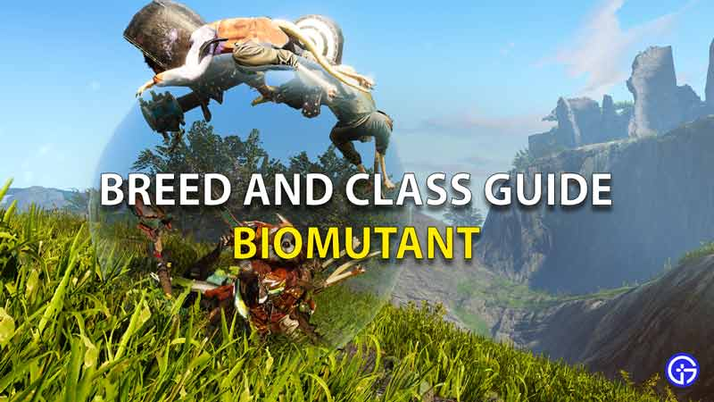 Breed And Class Guide Biomutant