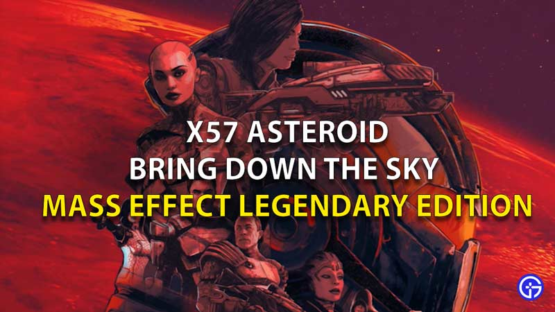 Bring Down The Sky Mass Effect