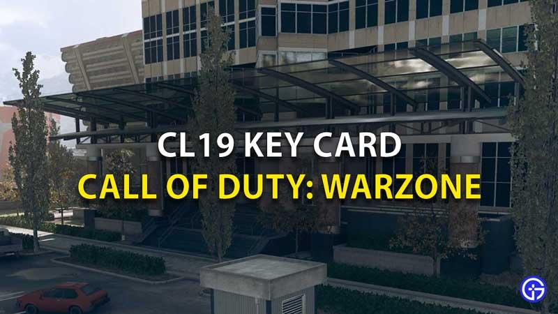 CL19 Key Card COD