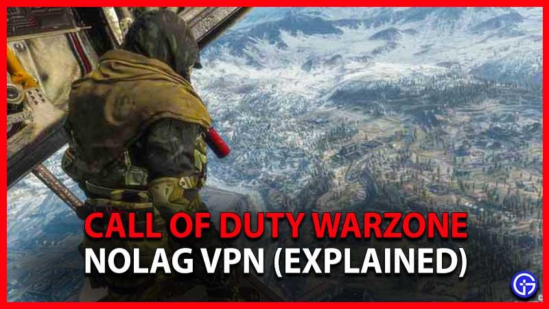 NoLag VPN Warzone