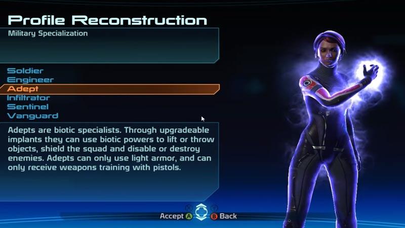 Class Change Mass Effect