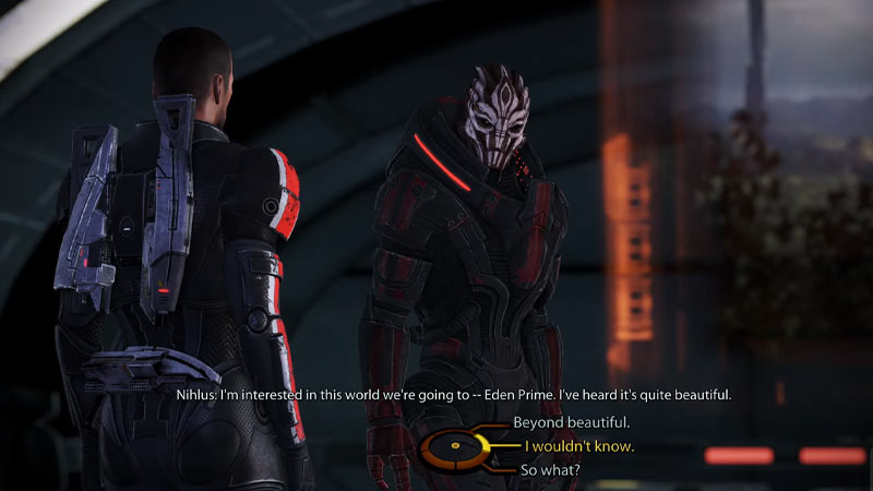 How to skip or jump cut scenes in mass effect legendary edition