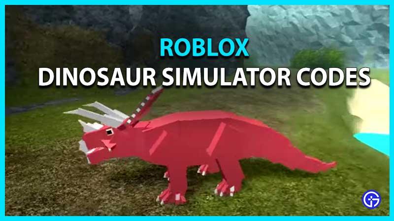 Roblox Dinosaur Simulator Codes