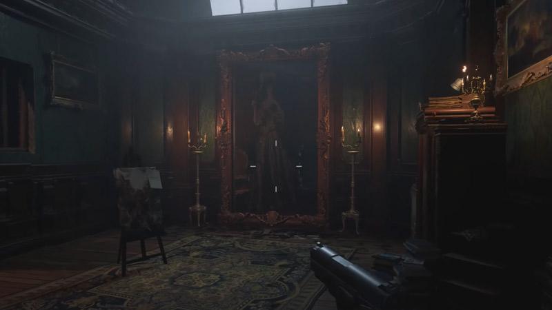 Atelier Room Resident Evil Village