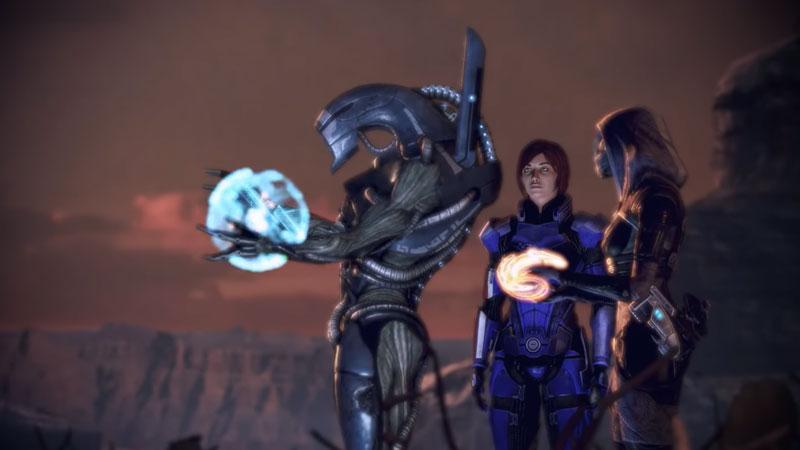 Geth Quarian peace Mass Effect