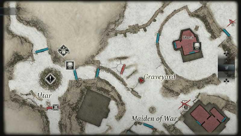 Graveyard location