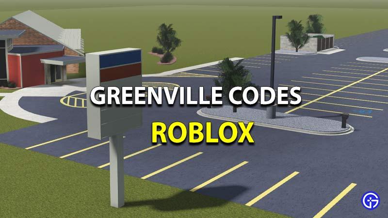 Greenville Codes
