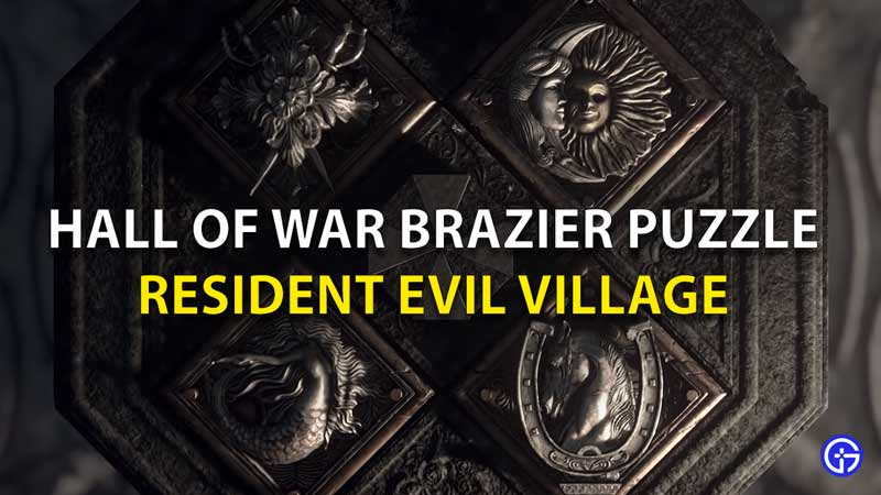 Hall Of War Brazier Puzzle RE8