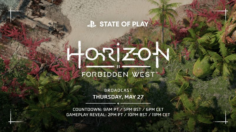 Horizon Forbidden West New State of Play