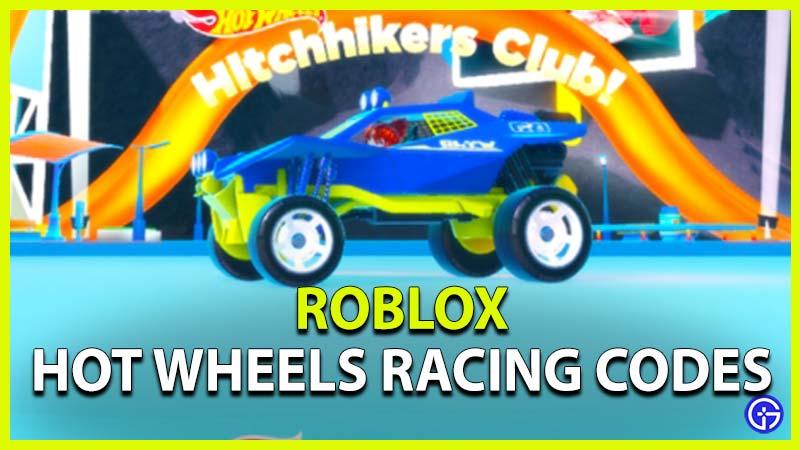 Hot Wheels Racing Codes Roblox