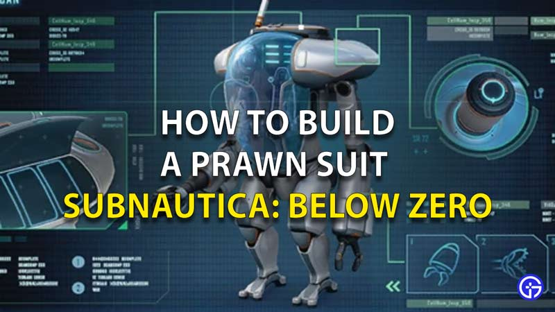 How To Build A Prawn Suit