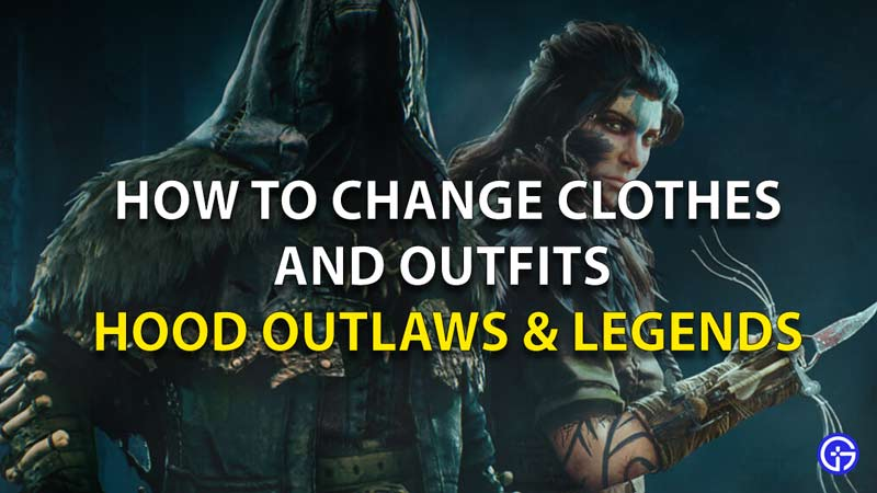 How To Change Clothes And Outfits In Hood