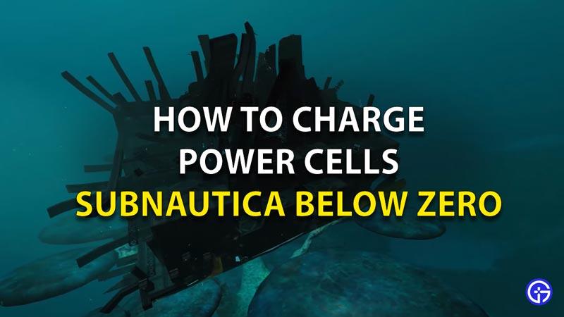 How To Charge Power Cells Subnautica Below Zero