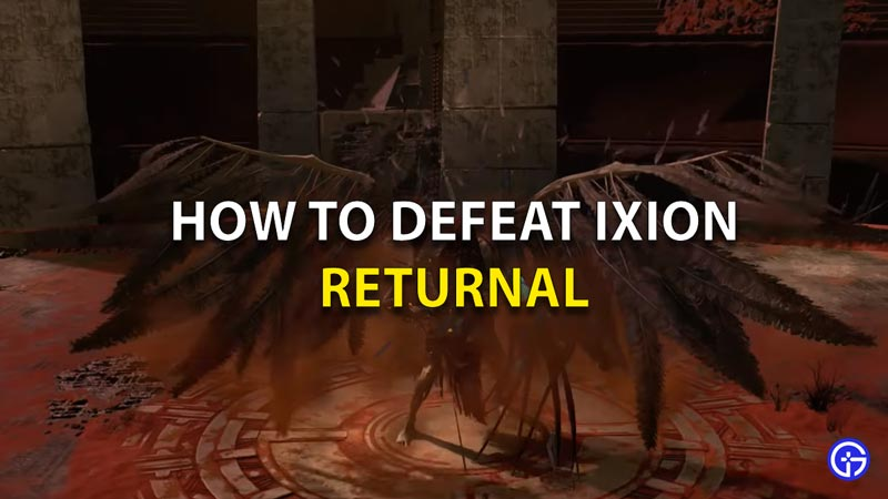 How To Kill Ixion