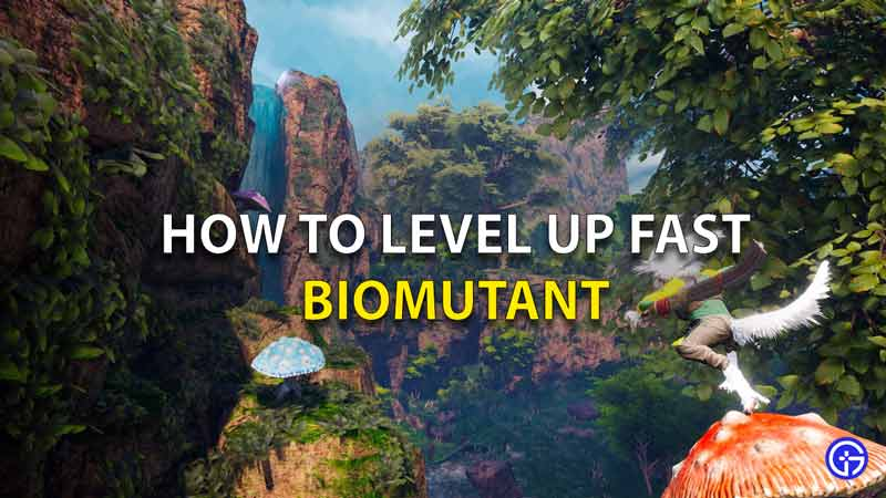 How To Level Up Fast In Biomutant