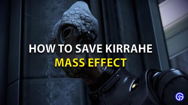 How To Save Kirrahe