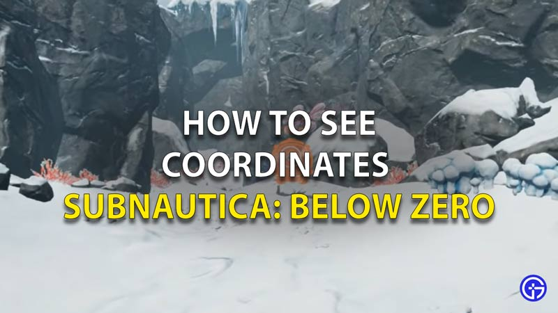 How To See Coordinates Subnautica