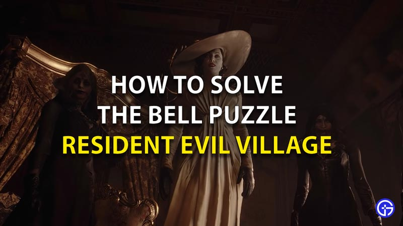 How To Solve Bell Puzzle