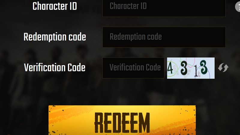 how to redeem pubg mobile codes