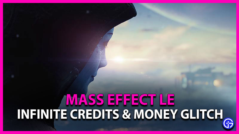 Infinite Credits or Money Glitch in Mass Effect Legendary Edition