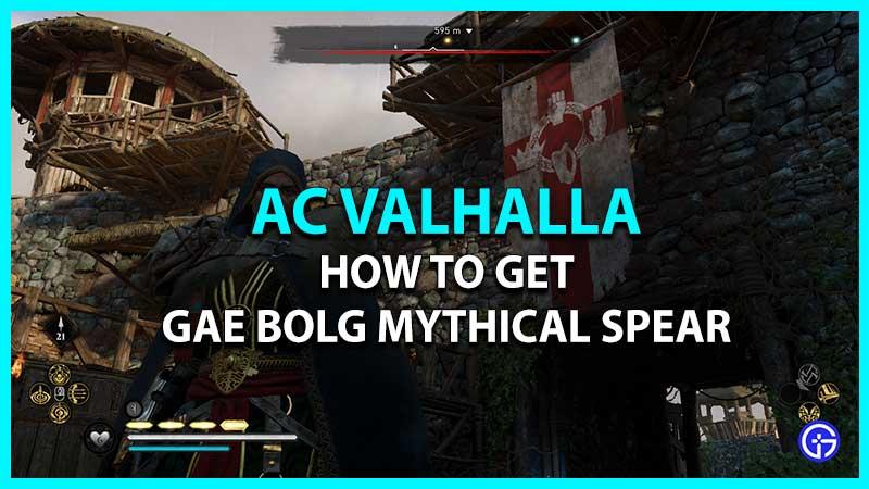 Legendary Gae Bolg Mythical Spear Wrath of the Druids