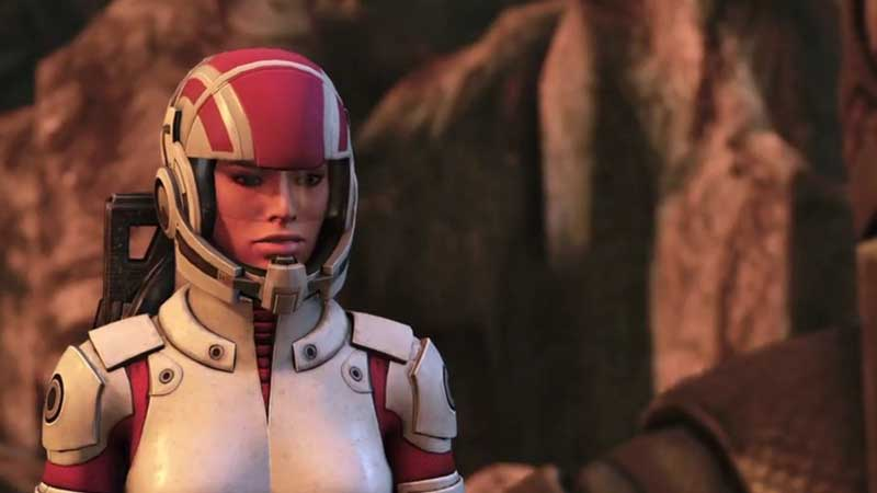 Mass Effect 1 Legendary Edition Ashley romance guide