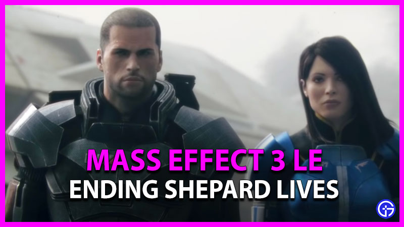 Mass Effect 3 Legendary Edition Shepard Lives Ending