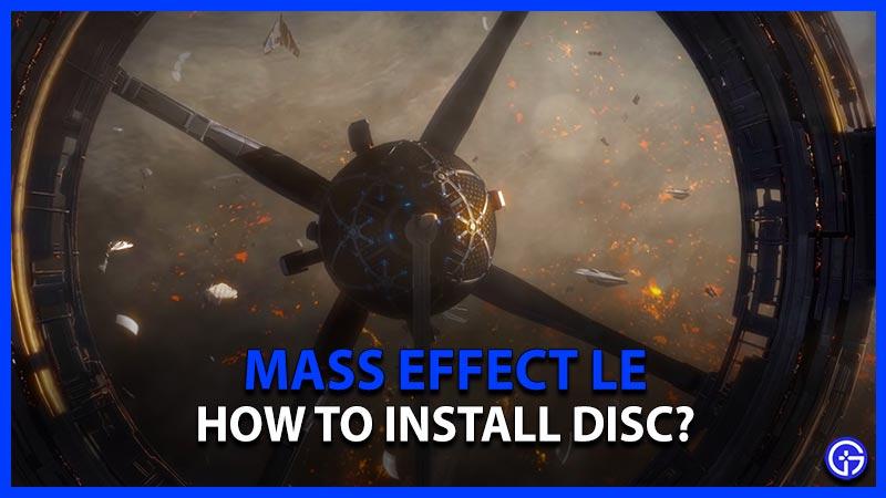 Mass Effect Legendary Edition Install Disc