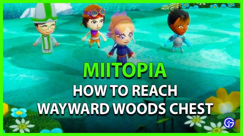 Miitopia Wayward Woods Chest
