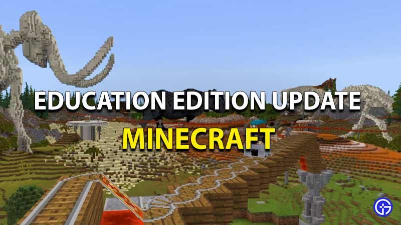 Minecraft Education Update Install